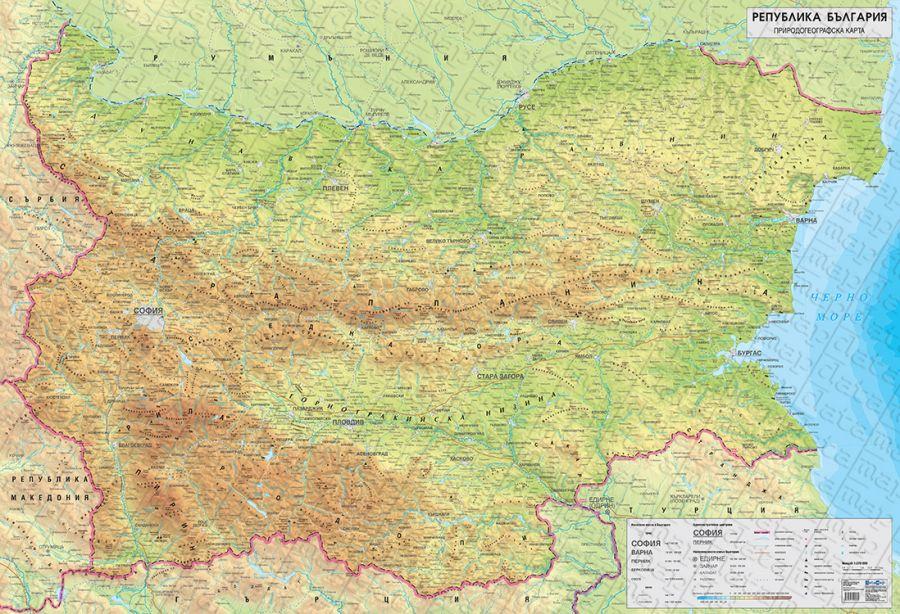 Izdadeni Karti Blgarska Kartografska Asociaciya